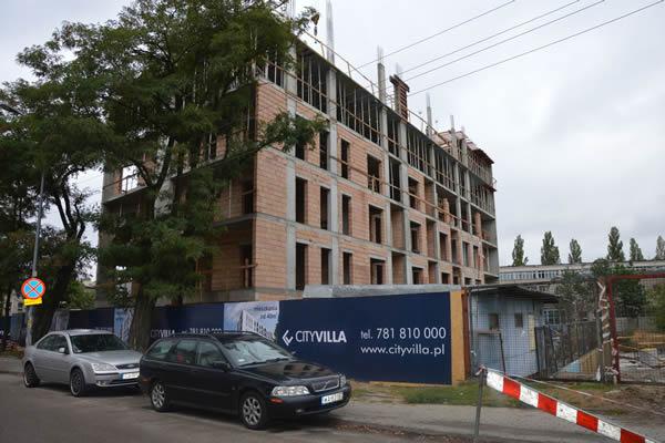 Villa Propertus - budowa