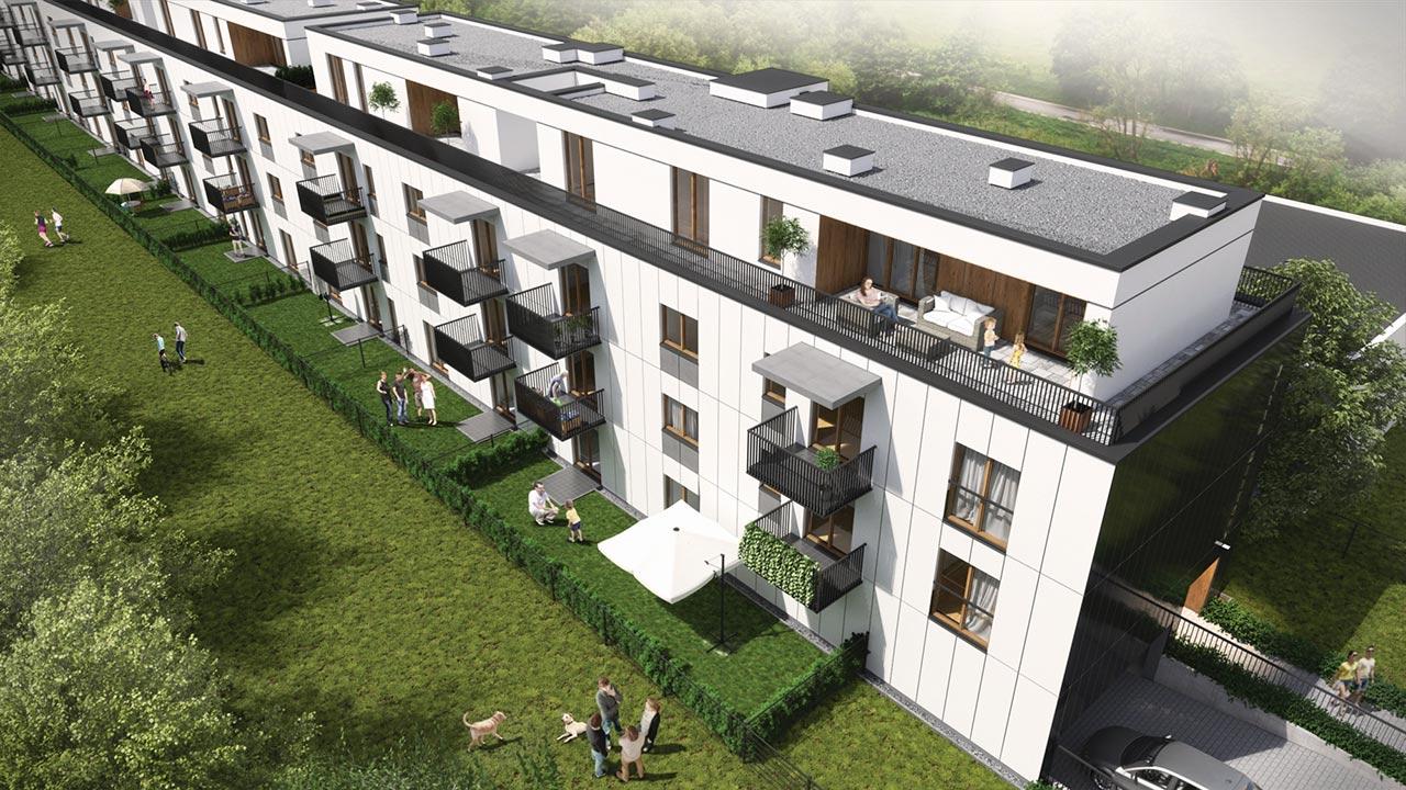 Villa Merkury - Mieszkania Bemowo